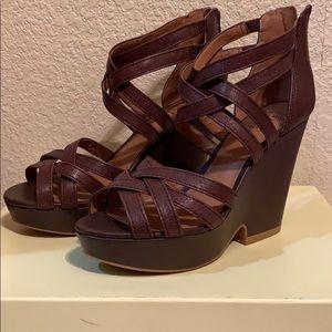 Cute summer wedged heel